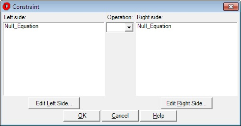 Constraint Dialog graphic